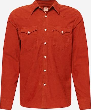 LEVI'S Hemd 'BARSTOW WESTERN STANDARD' in Rot