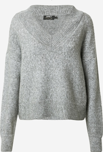 ONLY Pullover 'MIKA' in grau, Produktansicht