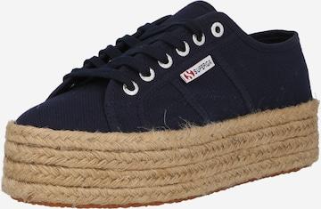 Sneaker low de la SUPERGA pe albastru