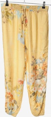 Oysho Pants in S in Yellow