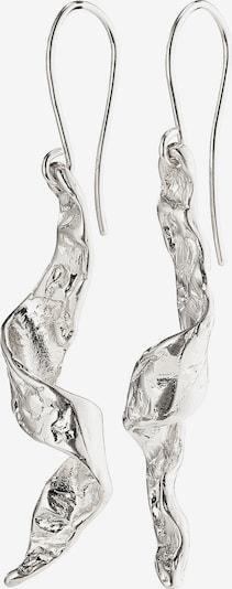 Pilgrim Uhani | srebrna barva, Prikaz izdelka