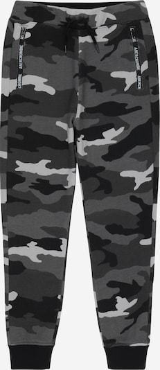 Abercrombie & Fitch Панталон в антрацитно черно / светлосиво / тъмносиво, Преглед на продукта