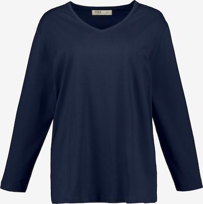 Ulla Popken Shirt '751241' in marine, Produktansicht