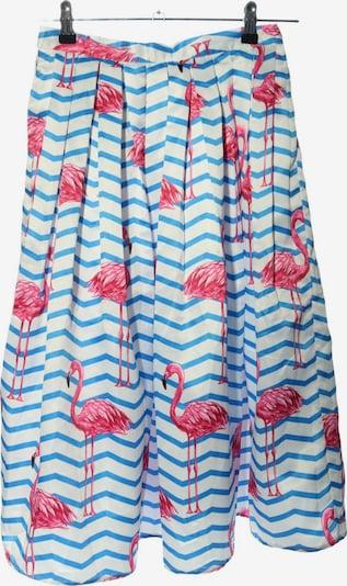 CHICWISH Faltenrock in S in blau / pink / weiß, Produktansicht
