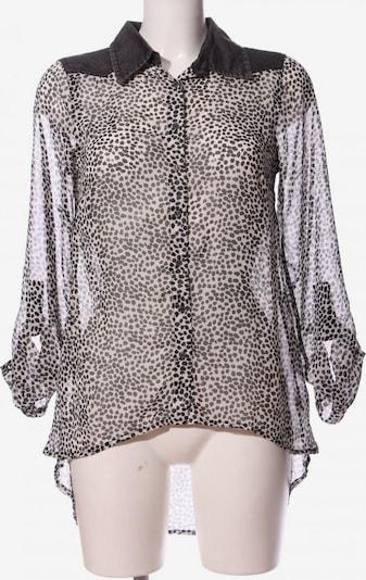 Gina Hemd-Bluse in S in schwarz / weiß, Produktansicht