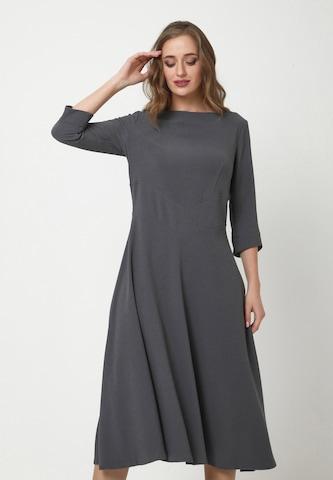Madam-T Dress in Grey