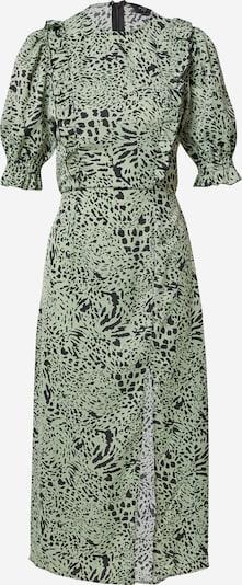 AX Paris Robe en vert clair / noir, Vue avec produit