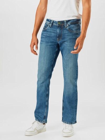 kék farmer Pepe Jeans Farmer, Modell nézet