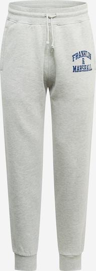 FRANKLIN & MARSHALL Hose in blau / grau, Produktansicht