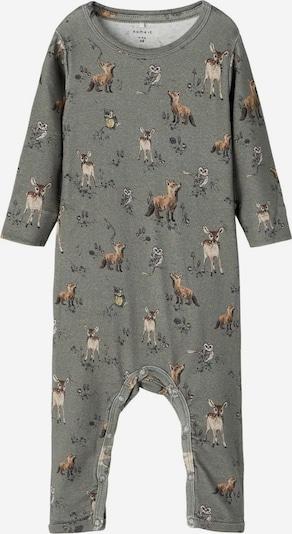 NAME IT Romper/Bodysuit in Brown / Grey, Item view