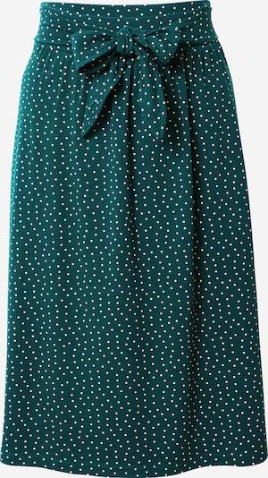 King Louie Spódnica 'Gail' w kolorze zielony / białym, Podgląd produktu