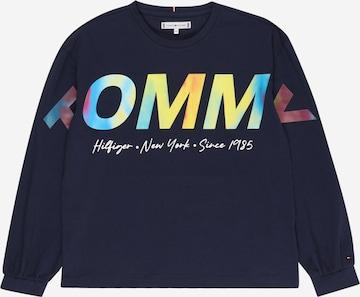 TOMMY HILFIGER Shirt in Blau