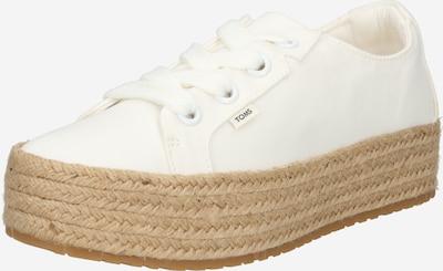 TOMS Baskets basses 'CASSIAH' en blanc, Vue avec produit
