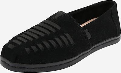 TOMS Slipper 'ALPARGATA' in schwarz, Produktansicht