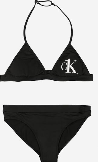 Calvin Klein Swimwear Бански тип бикини в черно, Преглед на продукта