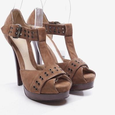 Fendi Sandaletten in 37 in braun, Produktansicht