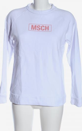 MSCH Copenhagen Sweatshirt in XS in rot / weiß, Produktansicht