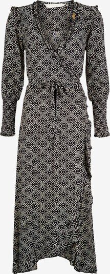 Isla Ibiza Bonita Kleid 'AMOR' in grau / schwarz, Produktansicht