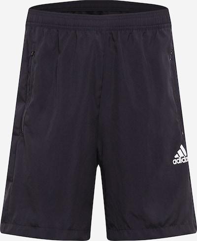 ADIDAS PERFORMANCE Sportovní kalhoty - černá / bílá, Produkt