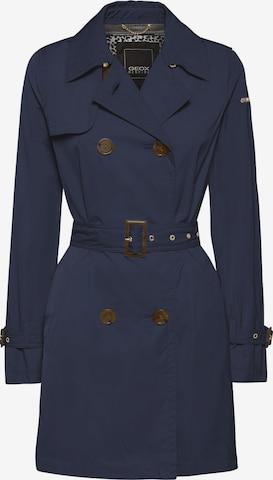 GEOX Between-Seasons Coat in Blue