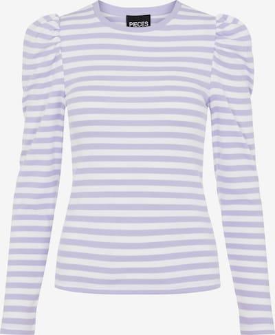 PIECES Shirt 'PCANNA' in lavendel, Produktansicht