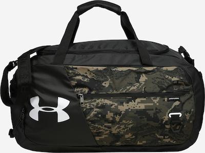 Sportinis krepšys iš UNDER ARMOUR , spalva - šviesiai ruda / rusvai žalia / juoda, Prekių apžvalga