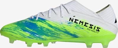 ADIDAS PERFORMANCE Fußballschuh 'Nemeziz 19.1' in neongrün / schwarz / weiß, Produktansicht