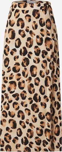 Fabienne Chapot Hame 'Bobo Frill' värissä beige / ruskea / musta, Tuotenäkymä