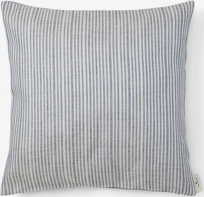 TOM TAILOR Kissenhülle in blau / weiß, Produktansicht