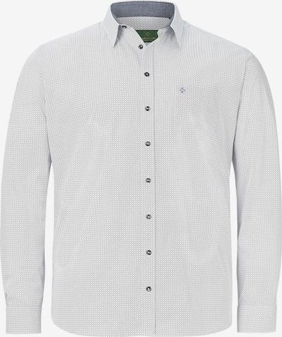 Charles Colby Overhemd 'Duke Scott' in de kleur Zwart / Wit, Productweergave