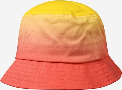 Calvin Klein Jeans Sombrero en amarillo / salmón / rojo anaranjado, Vista del producto