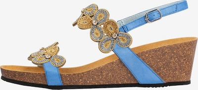 SCHOLL Sandale 'SCARLETT' in blau, Produktansicht