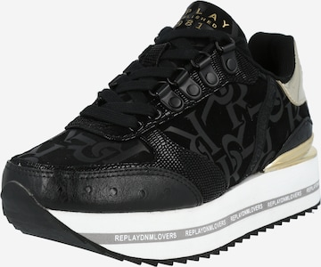 REPLAY Sneaker 'Heniker' in Schwarz