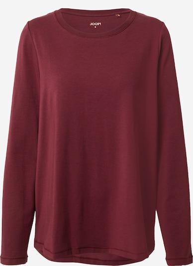JOOP! Bodywear Slaapshirt in de kleur Wijnrood, Productweergave