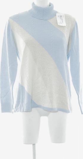 Menke Rollkragenpullover in XL in creme / himmelblau, Produktansicht