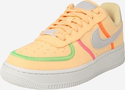 Nike Sportswear Trampki niskie 'Air Force 1' w kolorze jasnoszary / zielony / różowy / melonowym, Podgląd produktu