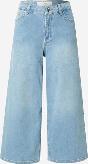 FIVEUNITS Jean 'Abby Crop' en bleu denim, Vue avec produit