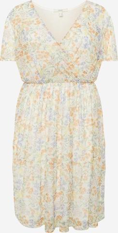 Esprit Curves Kleid in Weiß
