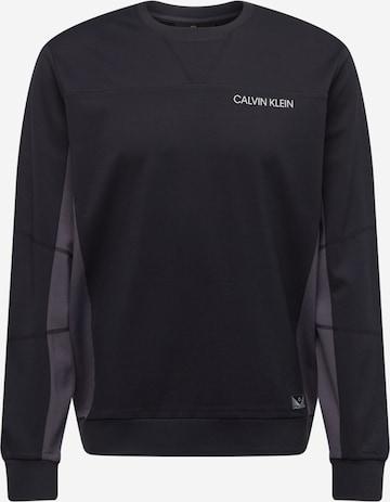 Hanorac sport de la Calvin Klein Performance pe negru
