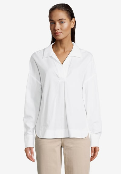 Betty & Co Blouse in White, View model