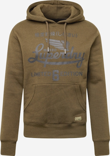 Superdry T-Shirt 'MILITARY' en kaki / noir, Vue avec produit