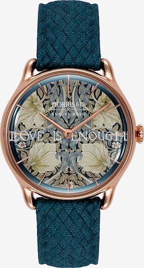 August Berg Uhr 'MORRIS & CO Rose Gold Indigo Perlon 30mm' in blau, Produktansicht