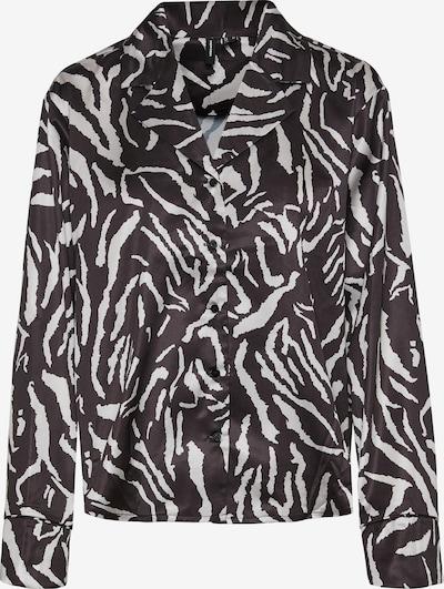 VERO MODA Blus 'Tanne' i svart / vit, Produktvy