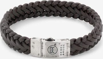Rebel & Rose Armband in Schwarz