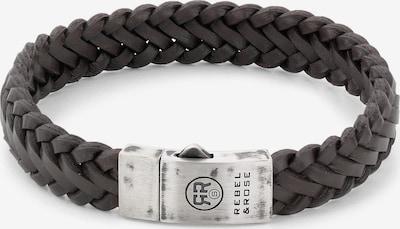 Rebel & Rose Armband in schwarz, Produktansicht