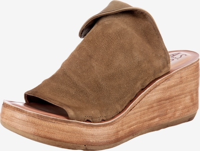 A.S.98 Pantolette in taupe, Produktansicht