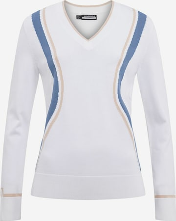 J.Lindeberg Athletic Sweater 'Bianca' in White