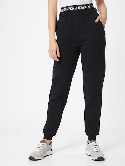 ABOUT YOU Limited Pantalon 'Anna' en noir: Vue de face