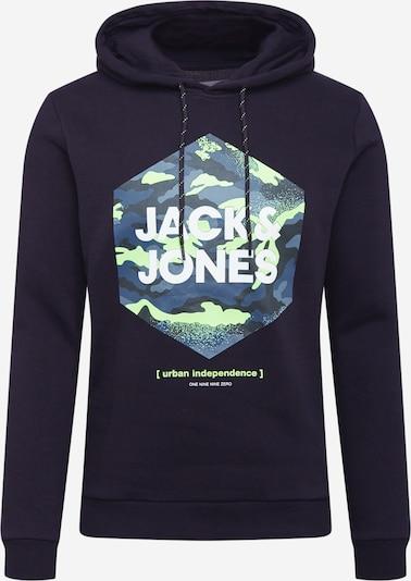 Felpa 'PRIME' JACK & JONES di colore marino / blu fumo / kiwi / nero / bianco, Visualizzazione prodotti