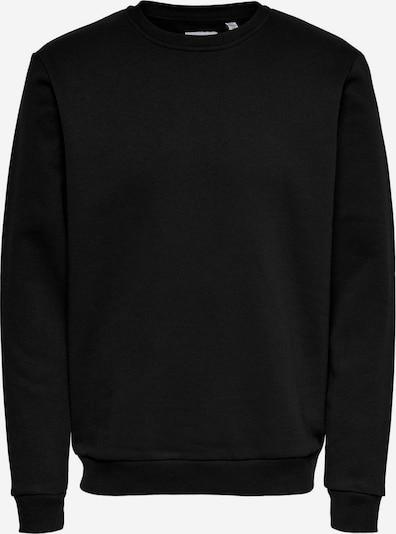Only & Sons Sweat-shirt 'Ceres' en noir, Vue avec produit